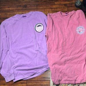 Set of 2 Gildan Longsleeve Colorado shirts